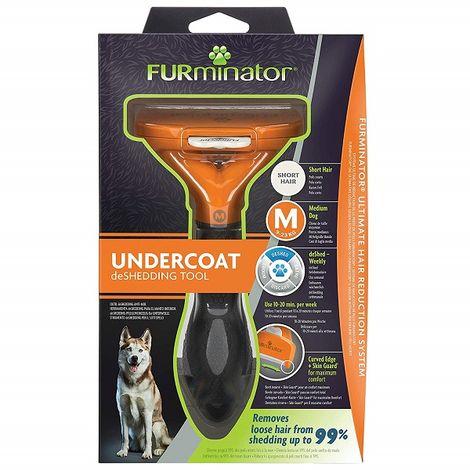Cepillo para Perros FURMINATOR Perros PELO CORTO - Perro Mediano (9 a 23 kg)