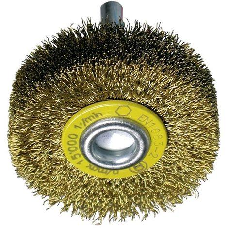 Cepillos circulares alambre ondulado - Vástago 6mm (Amoladora recta altas revoluciones) - osborn_circ_al_ond_0002501132