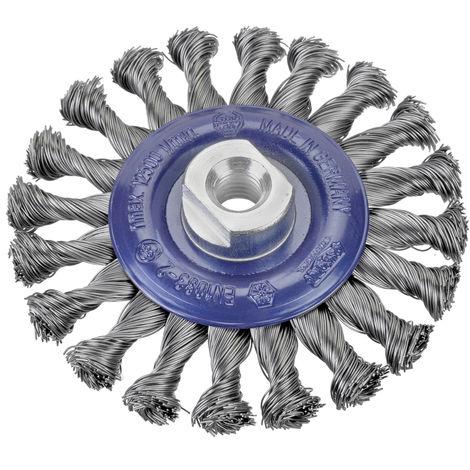 Cepillos circulares alambre trenzado - Tuerca M14 - osborn_circ_al_trenz_0402631131