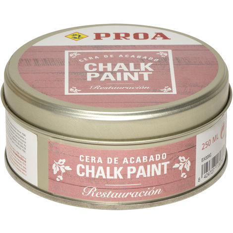 CERA CHALK PAINT PROA 250 ml, Transparente 0,25lts