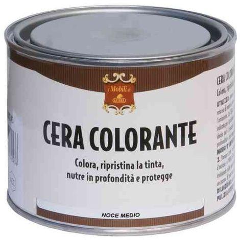 Cera colorante GUBRA Gr.500 colore rovere