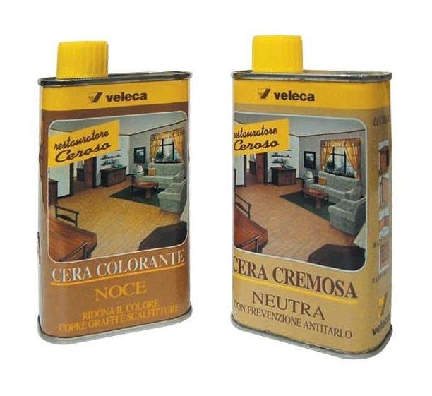 Cera liquida per legno veleca art 305 colore noce 250 ml for Cera arredamenti
