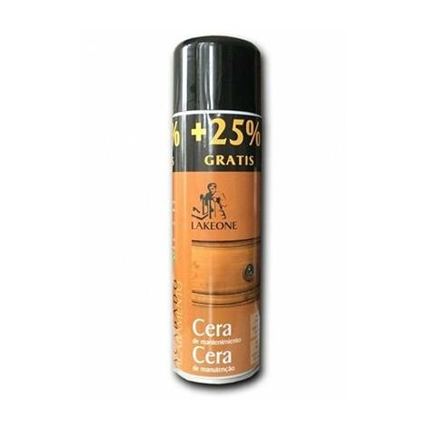 Cera mantenimiento muebles en spray LAKEONE 400 ml