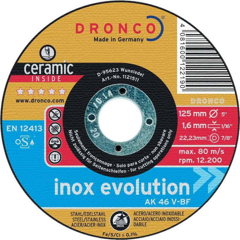 Image of 115X1.6X22.23MM AK46V Ceramic Cutting Disc - Dronco
