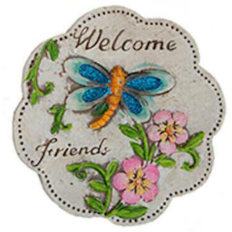 Ceramic Garden Plaque