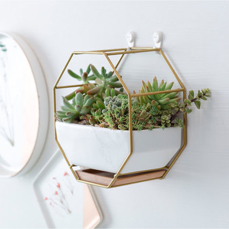 Ceramic Hanging Plant Pot Indoor Outdoor