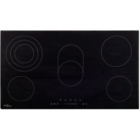 Ceramic Hob with 5 Burners Touch Control 77 cm 8500 W
