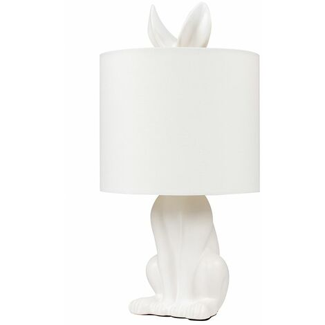 Ceramic Rabbit Table Lamp