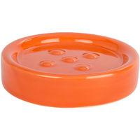 Ceramic soap dish Mod. Polaris orange WENKO