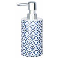 Ceramic Soap Dispenser Mod. Lorca, blue WENKO