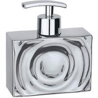 Ceramic soap dispenser Mod. Signs chrome WENKO