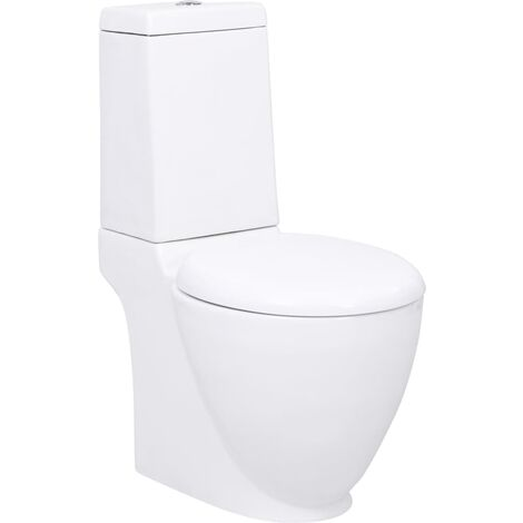 Ceramic Toilet White