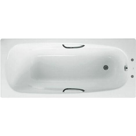 Ceramica Carla Steel Bath with Grip - 1700mm (Standard)