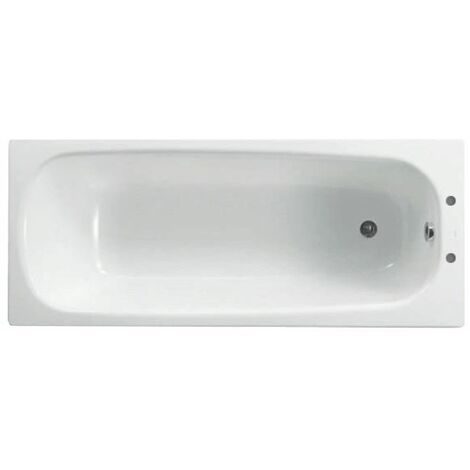 Ceramica Contessa Steel Bath - 1600mm (Standard)