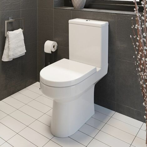 Ceramica Tivoli Close Coupled Toilet & Soft Close Seat