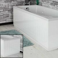 Ceramica Tongue & Groove Bath Panel Pack 1700mm/700mm