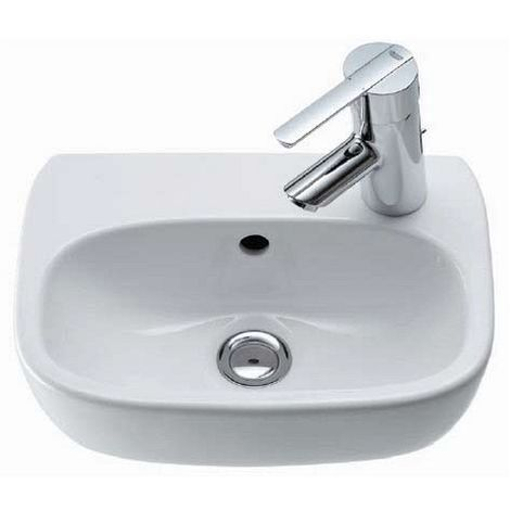 Ceravid Design Handwaschbecken Waschbecken 36cm im Komplettset mit Grohe Armatur, Ceravid, C72136000
