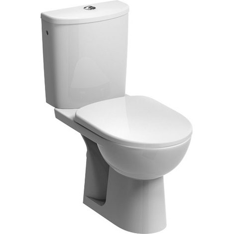 Ceravid Tiefspül-WC-Kombination, Rimfree®, mit Sitz, im Komplett-set ca4230000