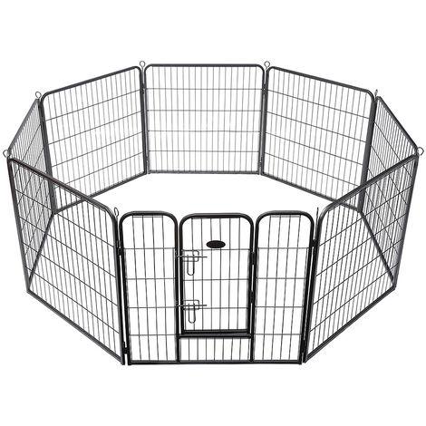 Cercado para cachorros Afuera Recinto Libre de Perros Cercado Establo para animales barrera