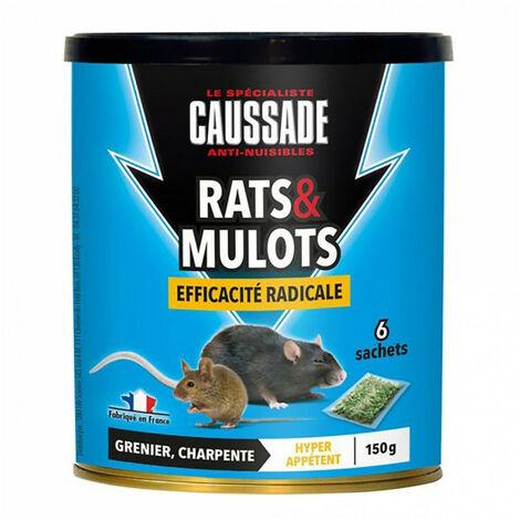 Céréales rats et mulots - efficacité radicale - 150g CAUSSADE