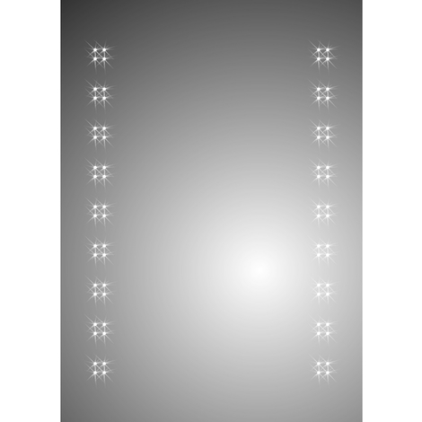 Ceres 500mm x 700mm Battery Operated Mirror