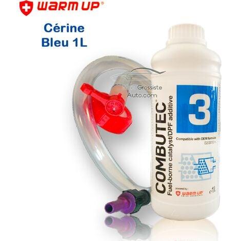 Cérine Additif FAP Bleu kit de remplissage Warm Up Combutec 3 1 Litres