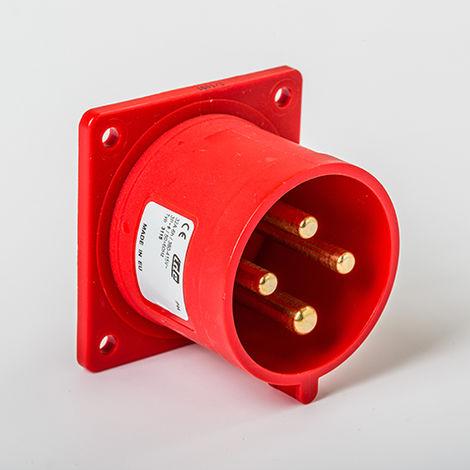 CER.IP44 3P+T 380V 32A 6H IDE 03115