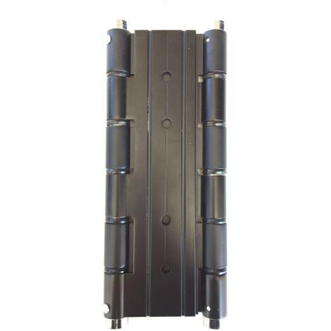 Cerniera a Molla Doppia Azione 180 mm per Porte a Vento in Legno