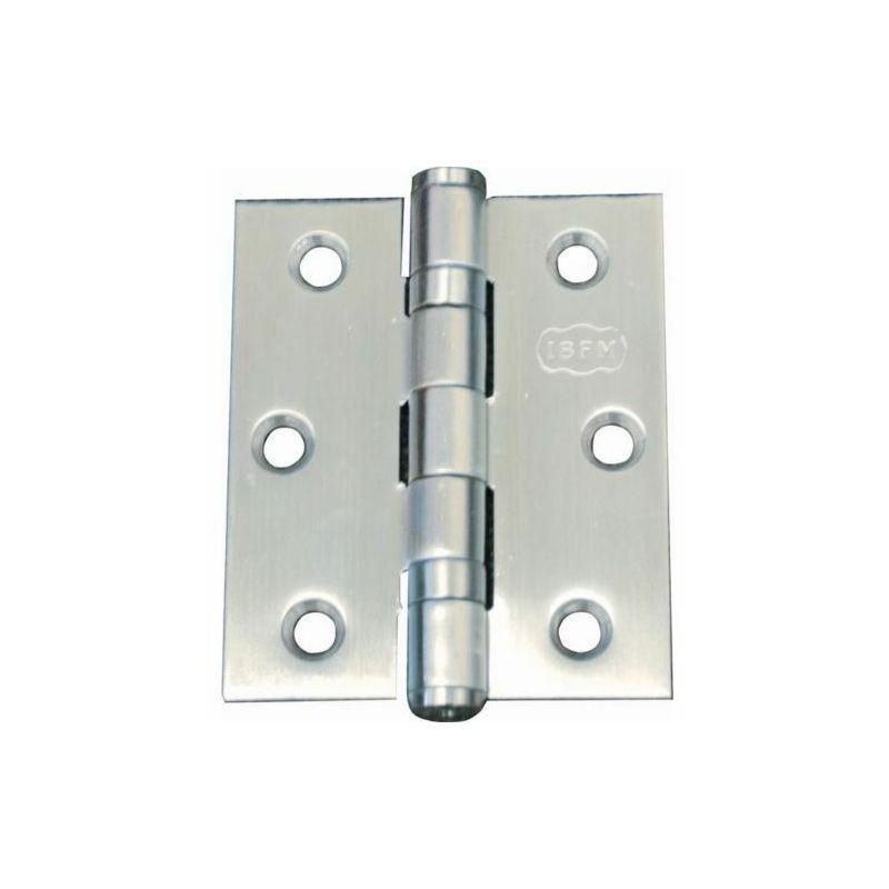 20 cerniere per porta con cuscinetto a sfera Jsdoin ideali per porte interne 75 mm 10 paia cerniere con cuscinetto a sfera in cromo lucido