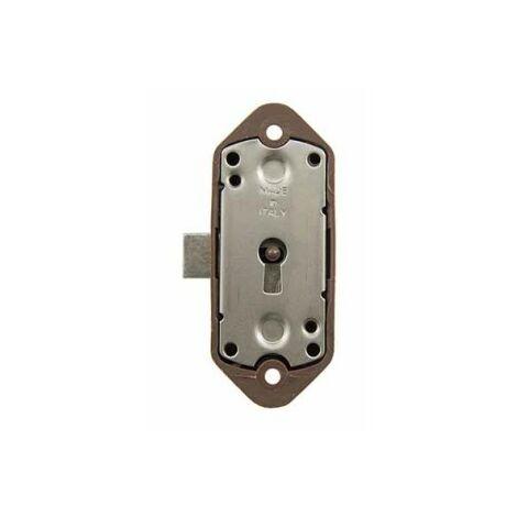 Cerradura armario 93-b marron sin llave sin accesorios