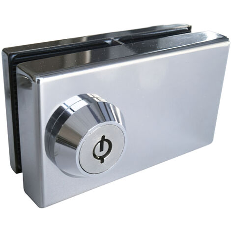 Cerradura cbm 2001 puerta cristal llave tubular