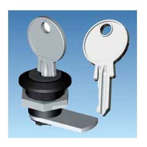 Cerradura con llave para cuadros Solera Arelos y Clásica