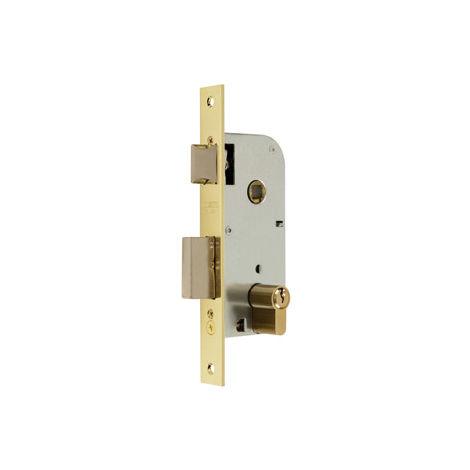 Cerradura Embutir F/ Laton - MCM - 1301-250A311 - 50 MM..