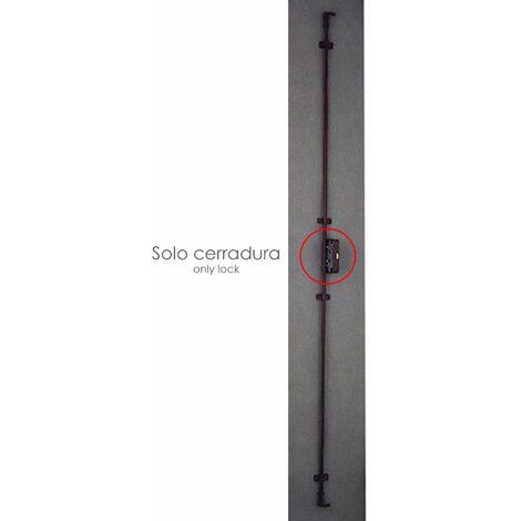Cerradura falleba sin llave 93/ marron