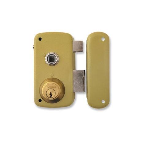 Cerradura hierro esmaltado Lince 5056-B/70I