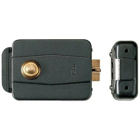 Cerradura iseo 510-60 mm.eléctrica con pulsador