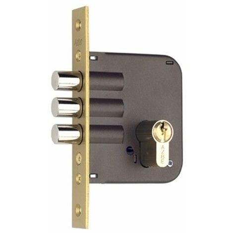 X80-Y50 Niquelado Yale 1 Cerradura Monoblock