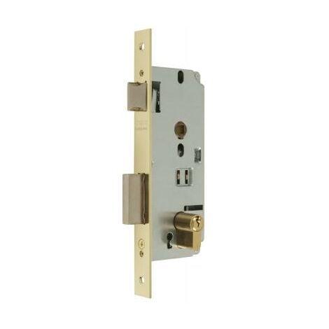 Cerradura Mcm R/1601-1-50 Niquel Golpe Y Llave P.Rdo. - Niquelado