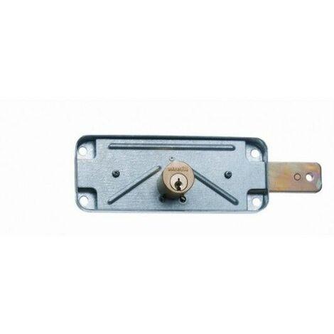 Cerradura Metal Sobreponer 1511Av Acero Cincado Puerta Metalica Basculante Mcm