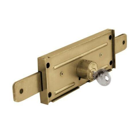 Cerradura Metalica 11A Hierro Cincado Puerta Metalica Enrrollable Cvl