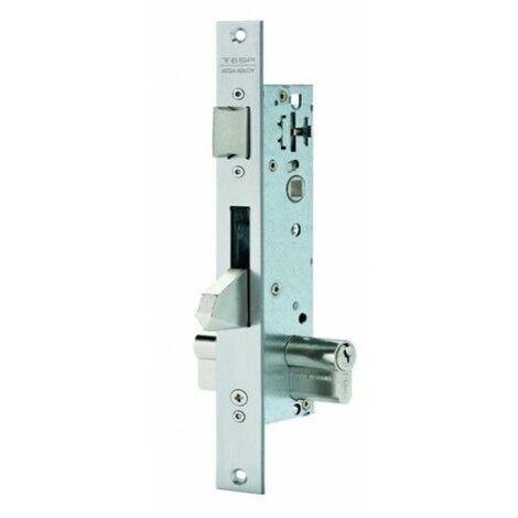 Cerradura Metalica Embutir 15X30Mm 2210Be303Ai Inox Picaporte/Palanca Basculante Tesa