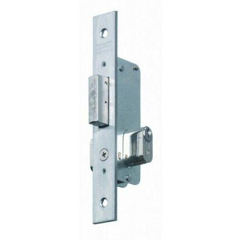 Cerradura Metalica Embutir 23X11Mm 1549-14 Inox Palanca Mcm
