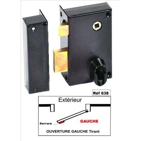 Cerradura Monopunto Vertical Con Cuadradillo con cilindro europeo (se Entrega Sin Cilindro)