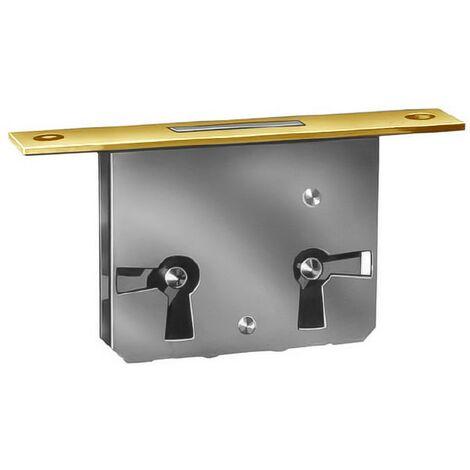 Cerradura mueble embutir 32/20 con llave