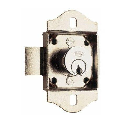 Cerradura Mueble P1020C01857 Cromo Puerta Aga