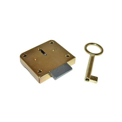 Cerradura mueble parche 42/20 con llave