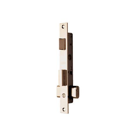 Cerradura para puerta metáica Tesa 220015HZ con picaporte y palanca deslizante