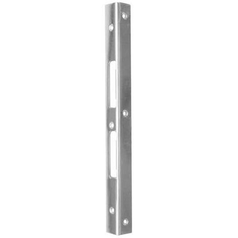 Cerradura pernio galvanizado 25X25X3X300mm