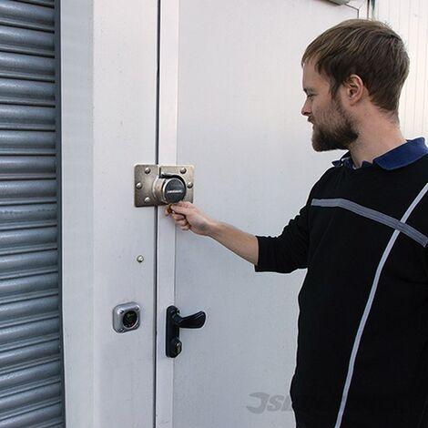 Cerradura robusta para furgonetas (73 mm)