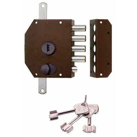 Cerradura Seguridad 3 Puntos Pintada 913.105 Df Unidad
